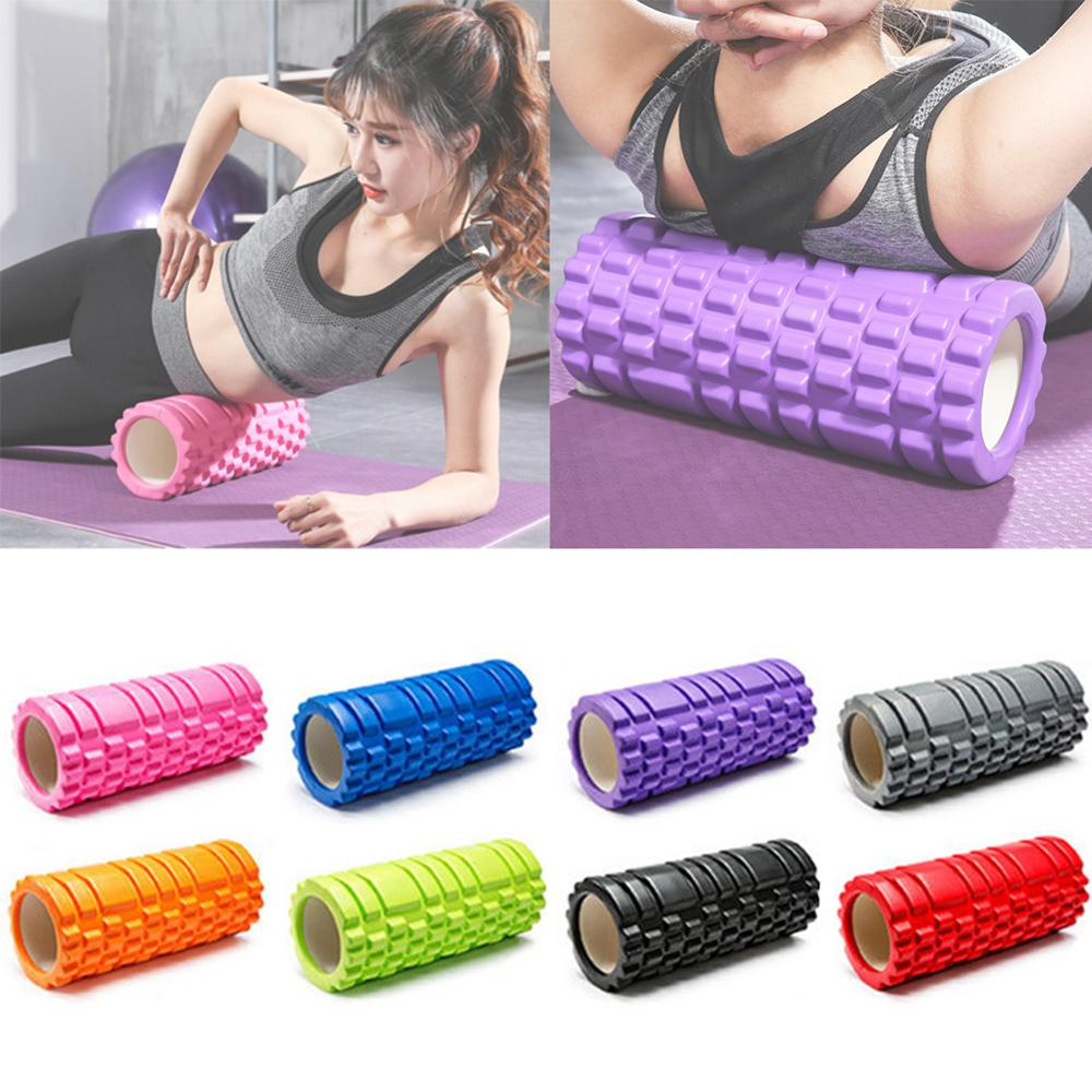 Massage Grid Trigger Point Foam Roller Pilates Muscle Tissue Yoga Gym Exercise