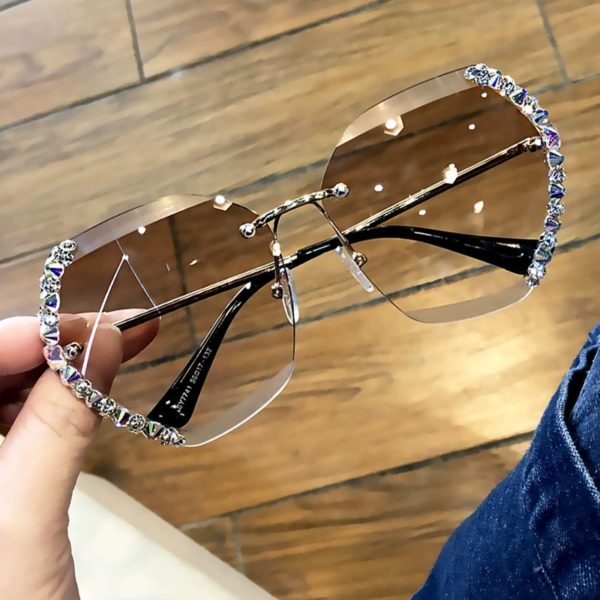 Perla Crystal Sunglasses