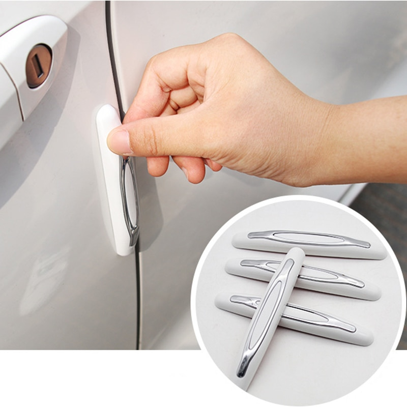 4 PCS Car Door Anti-Collision Strip